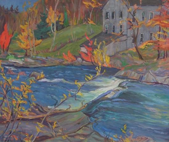 La Peche Creek   Ralph Wallace Burton