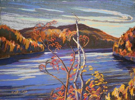 Autumn, McGregor Lake   RW Burton