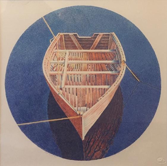 Tied Boat   Mary Pratt